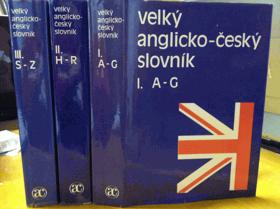 3SVAZKY Velký anglicko-český slovník - English-Czech dictionary I-III