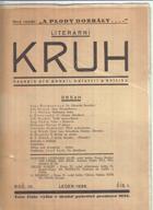LITERÁRNÍ KRUH - časopis pro poesii, beletrii a kritiku, ročník IV., č.1-10