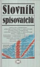 Slovník spisovatelů - anglická literatura - africké literatury v angličtině - australská ...