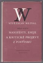 Manifesty, eseje a kritické projevy z poetismu