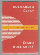 Bulharsko-český, česko-bulharský kapesní slovník
