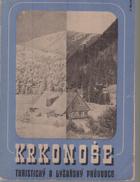 Krkonoše, turistický a lyžařský průvodce