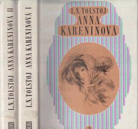 Anna Kareninová sv. 1 - 2 KOMPLET!